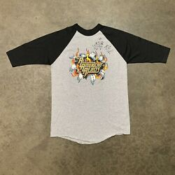 All American Rejects Too Bad For Hell 2003 Tour Signed Raglan Shirt Size S