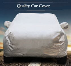 Outdoor Car Cover Clothes Protector Scratch Dust Sun Heat Rain Snow Water-proof