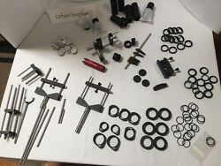 Lot Of 107 Thorlabs 1 Optical Lens Tubes V Clamps Rings Mounts Melles Griot