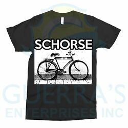 T-Shirt Bicycle Bike Dark Gothic Old Picture T Shirt Gift Present Design-1003
