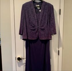 Mother Of The Bride Groom Formal Dress - 2 Pc Set, Womens Plus Size 24