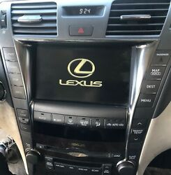 2009 LEXUS LS460 NAVIGATION DISPLAY SCREEN GPS MONITOR CLIMATE CONTROL OEM