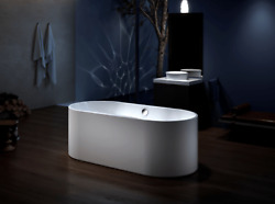 Carver Tubs Harmony 67andprime Freestanding Soaking Tub + Heated Air Massage - White