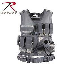Rothco Cross Draw Molle Tactical Vest - Acu