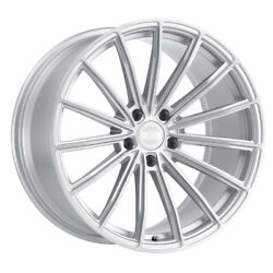 Xo Luxury London 20x10.5 5x114.30 Offset 20 Silver W/brushed Face Qty Of 4