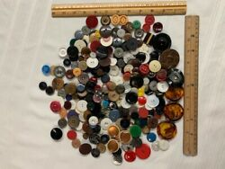 Lot Antique Vintage Collectible Buttons All Kinds No Junk Pre 1950and039s
