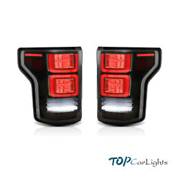Vland Led Tail Lights Fits For Ford F150 2015-2020 Rear Lamp Assembly