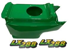 New Lower Hood And Set Of 2 Decals Replaces Am132688 M126054 Fits John Deere Lx288