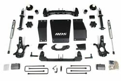 Bds 4 Lift And Nx2 Shocks For 14-18 Chevy/gmc 1500 With Cast Steel Control Arms