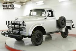 1957 DODGE POWER WAGON W100 ULTRA RARE 4x4 1 OF 216 V8 COLLECTOR CALL 1-877-422-2940! FINANCING! WORLD WIDE SHIPPING. CONSIGNMENT. TRADES. FORD