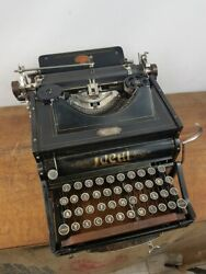Collectible Typewriter Ideal A2 From 1903 - No Risk With Shipping