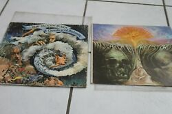 The Moody Blues Lot Of 2 Lp's In Search Of The Lost Chord ,a Question Of Balance