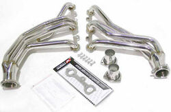 Obx Header For 66-91 Chevy Suburban Gmc Small Block 265-400 2/4wd Man. Steering