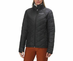 Womens M COLUMBIA HEAVENLY INSULATED OMNI HEAT LIGHT AND WARM WINTER JACKET