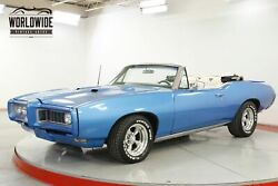 1968 PONTIAC GTO BODY-OFF RESTORED CONVERTIBLE AC 400 V8 PS CALL 1-877-422-2940! FINANCING! WORLD WIDE SHIPPING. CONSIGNMENT. TRADES. FORD