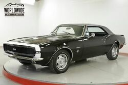 1967 CHEVROLET CAMARO RSSS TRIBUTE 350 V8 FACTORY AC TRIPLE BLACK CALL 1-877-422-2940! FINANCING! WORLD WIDE SHIPPING. CONSIGNMENT. TRADES. FORD