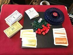 Monopoly Deluxe Edition Hotels Houses Dices Play Money Cards And Holder