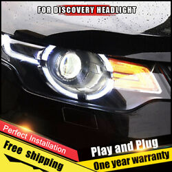For Land Rover Discover Headlight Assembly Xenon Lens Double Beam Hid Kit 17-20