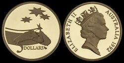 Australia 5 Dollars 1992 International Year Of Space Proof Coin