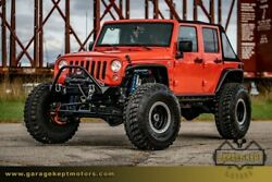 2016 Jeep Wrangler JK Unlimited 2016 Jeep Wrangler JK Unlimited Orange SUV LS3 650HP V8 16737 Miles