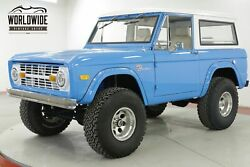 1967 FORD BRONCO RESTORED V8 PS PB DISC 4x4! 4K MILES MUST SEE CALL 1-877-422