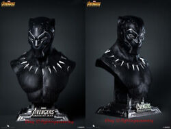 Queen Studios 1/1 Avengers Black Panther Bust Limited Resin Statue Instock