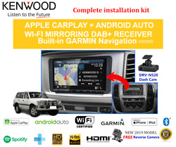 Kenwood Dnx9190dabs Stereo Upgrade To Suit Toyota Landcruiser 100series 1999-06