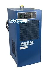 Schulz 125 Cfm Refrigerated Compressed Air Dryer, 25hp And 30hp Compressors 115v