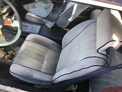Buick Regal Steering Column Center Console Driver And Passenger Cloth Bucket Seats