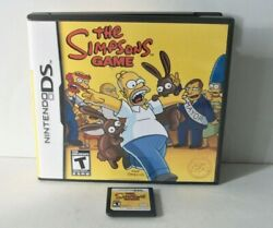 The Simpsons Game Nintendo Ds Out Of Stock