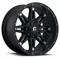 4 20x9 Fuel Offroad D531 Black Hostage Wheels 8x170 For 03-19 F-250 F-350