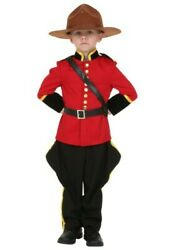 TODDLER CANADIAN MOUNTIE COSTUME SIZE 2T (missing pants)