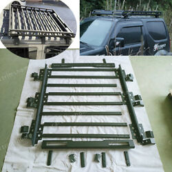 Car Roof Luggage Rack Basket Metal Carrier Box Fit For Suzuki Jimny 2018-2019