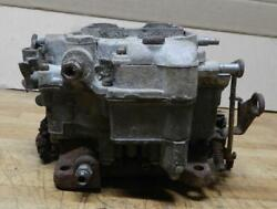 1956 Chevrolet Corvette Used 4-bbl Wcfb Carburetor 6-1098 0-953 For Parts Only