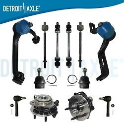 4wd Front Upper Control Arm Wheel Bearing Tie Rod Sway Bar For Ranger Explorer