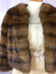 Russian Sable Chubby Fur Jacket