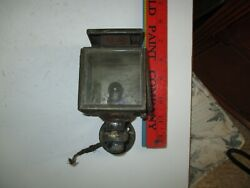 Antique Vintage 1910and039s 1920and039s Oil Coach Cowl Light Cabin Lantern