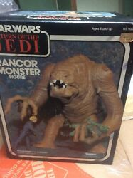 Star Wars Return Of The Jedi Rancor Monster Kenner In Good Condition