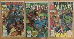 New Mutants 94 93 92 All Nm White Pgs Wolverine Vs Cable Liefeld And Mcfarlane
