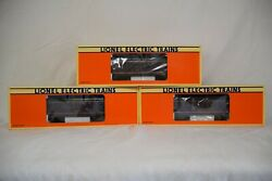 Lionel Norfolk And Western Powhatan Arrow Aluminum 3 Pack 6-19141/19142/19143