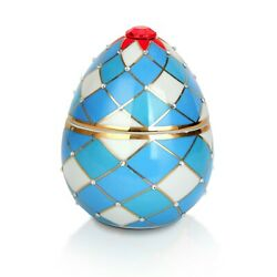 Harlequin Faberge Egg Ceramic Candle Perfect Fatherand039s Day Gift