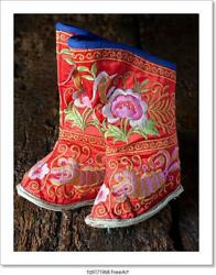Miniature Shoes For Bound Chinese Feet Art Print Home Decor Wall Art Poster - I