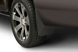 15-20 Tahoe Splash Guards / Mud Flaps- Front And Rear- Black Molded- Gm Brand New