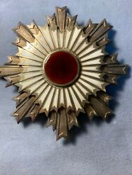 Japan. Order Of The Rising Sun. I Class Breast Star. 91 Mm, Vg. Silver.