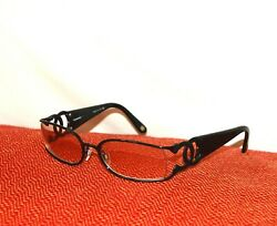 AUTHENTIC AND CHIC STYLISH VINTAGE CHANEL BLACK FRAME SUNGLASSES