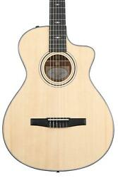 Taylor 312ce-n Nylon Acoustic-electric Guitar - Natural Sitka Spruce