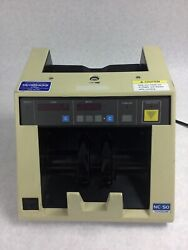 Toyo Communication Toyocom Nc-50 Currency Counter - For Parts