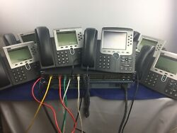 Cisco 6 Enhanced Cme Voip Phone Systems With Voicemail And Auto-attendant