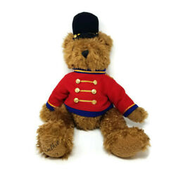 Vtg 1999 Belkie Jointed Bear Plush British Guard Toy Soldier Holiday Toy 22