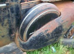 1940 Buick Limited Side Mounts For Front Fenders